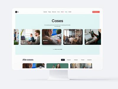 Cases Overview - PL & Partners Web Design branding web design landing page ui design webdesign web
