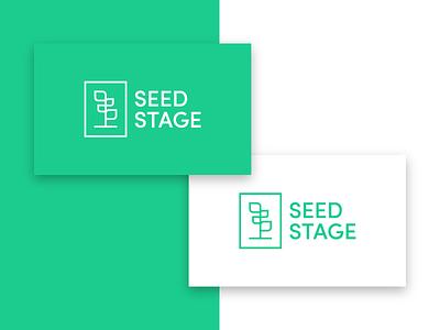 Seed Stage Logo logo