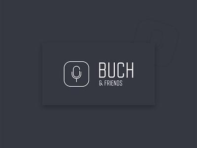 Buch & Friends Logo identity logo design logo