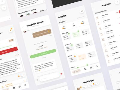 QuickManager IOS App ux ui app design design app ios
