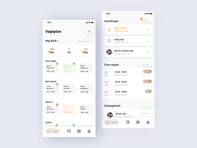 Quickmanager IOS ui ux design app design app ios