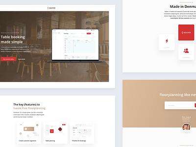 Seater Web Design landing page landingpage web design webdesign web