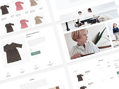 Pierrot La Lune Web Design webshop web ui ux webdesign