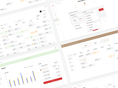 Web App Design - Quickmanager dashboard web app design web app webdesign ui ux