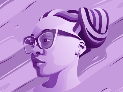 African Girl african girl vector vector art amadine