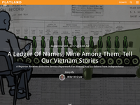 Flatland Illustration - Vietnam Ledger