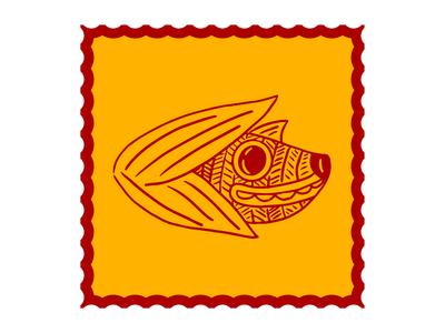 Corn Dog branding alebrije tamale corn dog character illustration