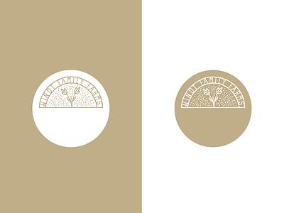 Windt Family Farms graphic design vector branding type design logo reillysauer illustration typography