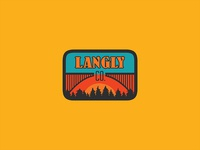 Langly Bags Co. Patch.