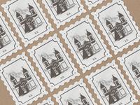 San Sebastián stamps