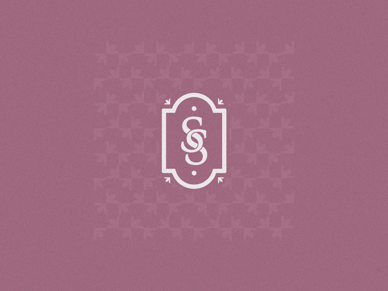 San Sebastián méxico cake shop pastry patisserie bakery ss design logo brand identity branding badge design