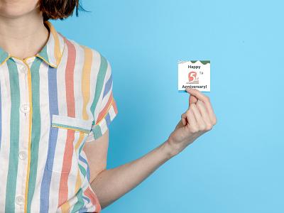 Affirm's Employee Anniversary Pins swag anniversary pins typography type illustration design branding