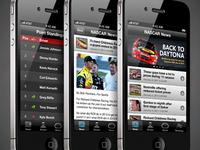 NASCAR iPhone App