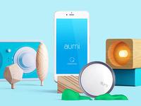 Aumi App || UI App Design