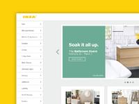 IKEA Redesign || Web Design Concept