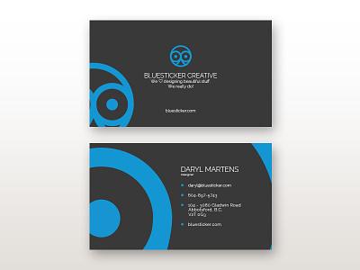 Business Cards vector shape round owl mark logo illustration head eye design bird animal