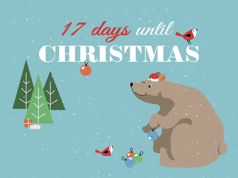 17 Days until Christmas by Ibi Nagy on