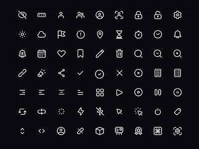 🏴 Fintory Icon Set free icons app icons icon iconset icons animation ux ui