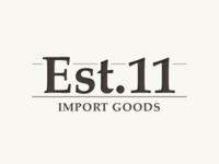 Est.11 Logo