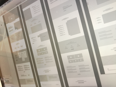 Wireframe site-flow flow wireframe clean user-experience ux design user-interface ui