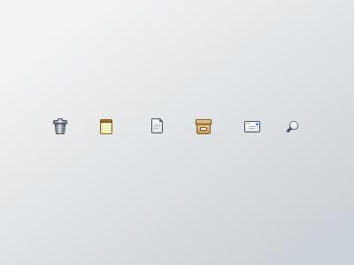 Small Icon Set ui user-interface design icon icons icon-set