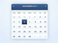 Free Calendar / Date Selector