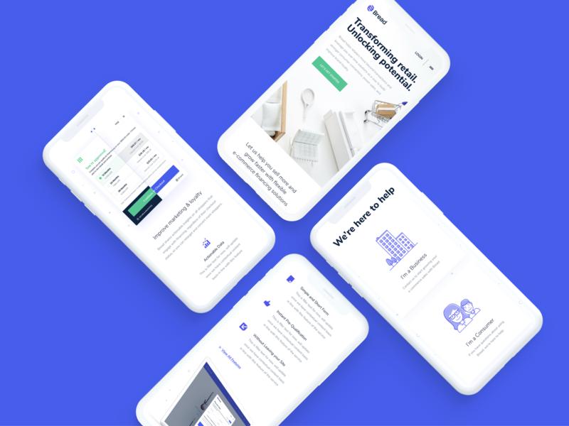 Responsive Design homepage ux mobile site marketing website interface responsive responsive design ios application app user-interface ui clean design