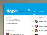 My Skype Version