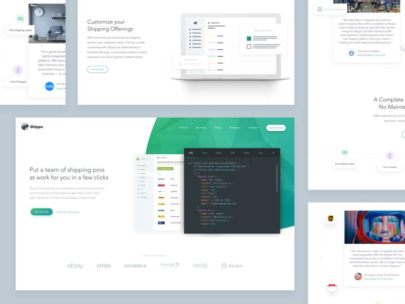 Website Design for Shippo