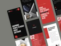 Responsive website design for WyeWorks
