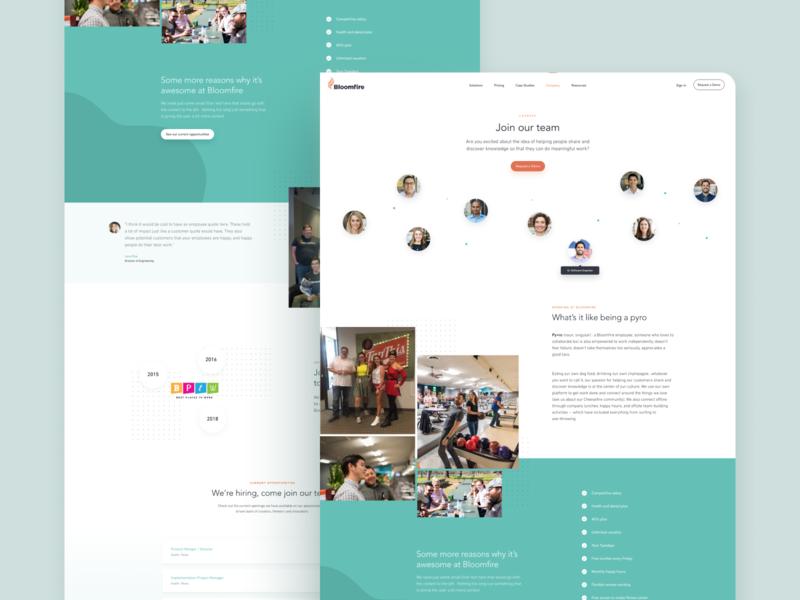 SaaS App Web Design