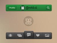 Geeklist Mobile