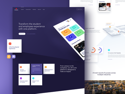 Modo Labs Homepage website marketing wordpress illustration clean user experience user interface ux ui landing page landing home homepage application app saas website design design