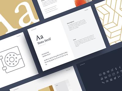 Branding Guide saas fintech web typography logo guidelines design branding brand identity brand art direction