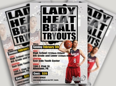 Basketball Flyer Design