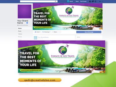 Facebook Banner Design banner design cover facebook banner facebook cover