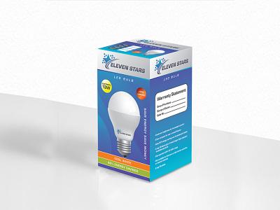 Packaging Design print bulb box box design package packaging design