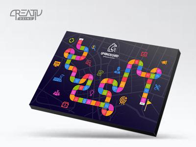 Business Board Game Design game illustration business board game game design business board game
