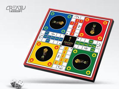Ludo Board Game Design board game illustration ludo design board games board game ludo