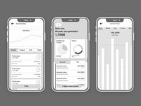 FERIQUE - Mobile app mobile app wireframe