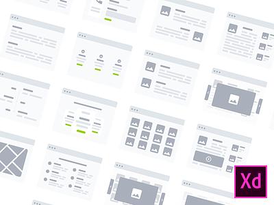 Adobe XD userflow v1 [FREEBIE] uxkit userflow adobe xd wireflows free ui kit