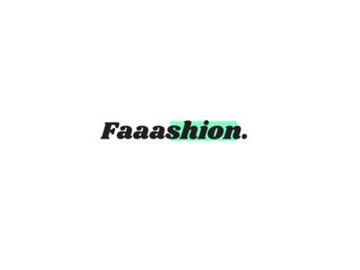 Faaashion Logo vector design logocollection illustration logochallenge logo art dailylogochallange dailylogo logocore logo a day logo