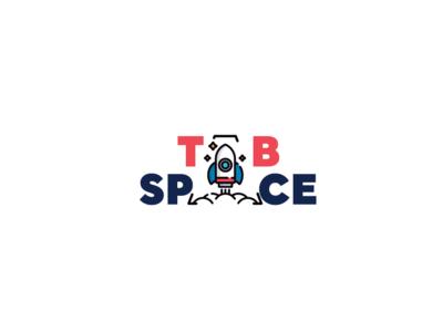 Tab Space logo design logotype space flat vector design logocollection illustration logochallenge logo art dailylogochallange dailylogo logocore logo a day logo