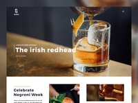 Spirits Magazine / Blog Template