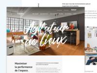 L'espace - Homepage