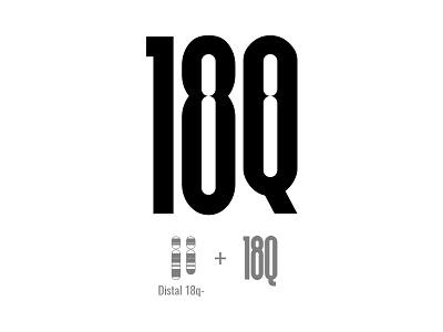 Distal 18Q logo negative space logo chromosome 18q chromosome disorder 18q
