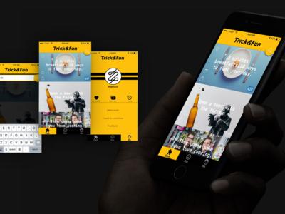 My first app design