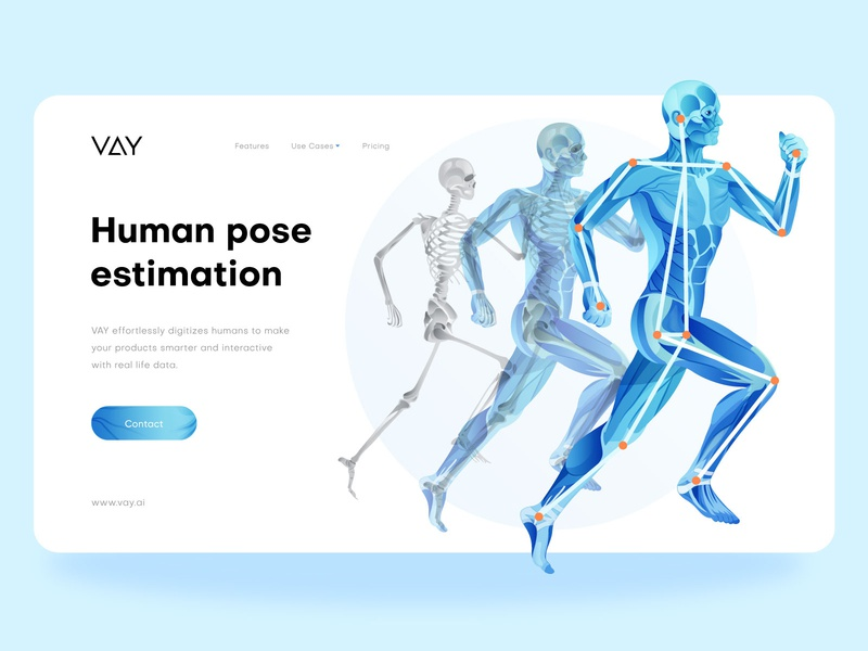 Human Pose Estimation Illustration ui  ux vector app web vay.ai activity human shape estimation human motion skeleton human body joints elbow keypoints human figure human pose estimation human illustration digital illustration digitalart