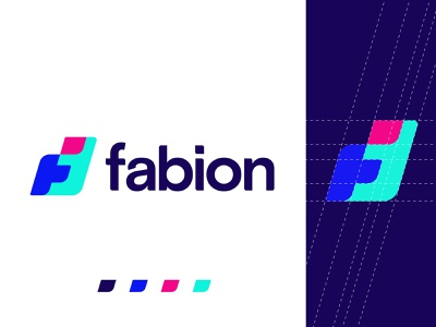fabion logo design logo ideas conceptual logo colorful logo modern logodesigntrend typogaphy f logo f logo design letter f brand identity brand app logo logotype logomark devignedge company logo corporate creative logo logodesign logo