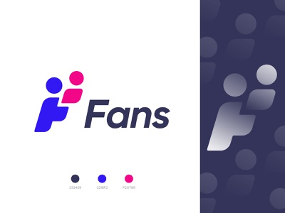 Fans Logo concept best logo designer logo ideas logo concept typography sports fan fans f icon letter f f logo modern logo vector devignedge app logomark logotype creative logo brand identity branding logo design logo